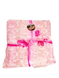 Gratis luxe inpakken - Papier - Roze/Blauw