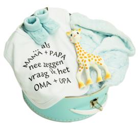 Cadeaukoffertje Sophie de Giraf Blauw