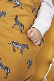BABYSLAAPZAK ROND ZEBRA ANIMAL - HONEY GOLD - Vanaf
