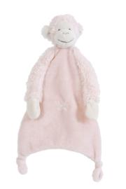 Happy Horse Pink Monkey Mickey knuffeldoekje 28 cm