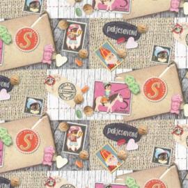 Gratis inpakken Sinterklaas - papier Jute