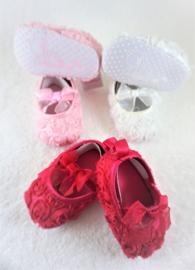 Schattige babyschoentjes met Roezel