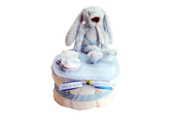Luiertaart Rabbit Richie  knuffel