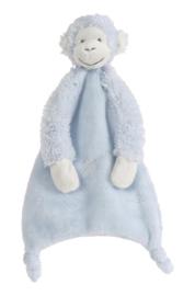 Happy Horse Blue Monkey Mickey knuffeldoekje 28 cm