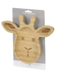 FSC Bamboo Giraffe Plate