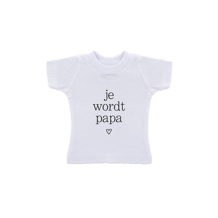 T-Shirt Zakje / Ik moet je iets vertellen / je wordt Papa