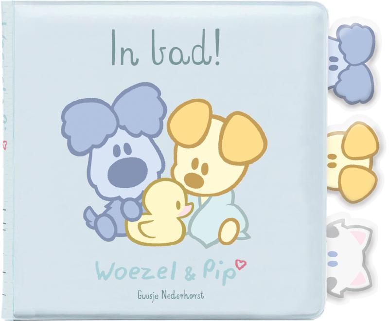 Woezel en Pip - In bad!- Babyboekje