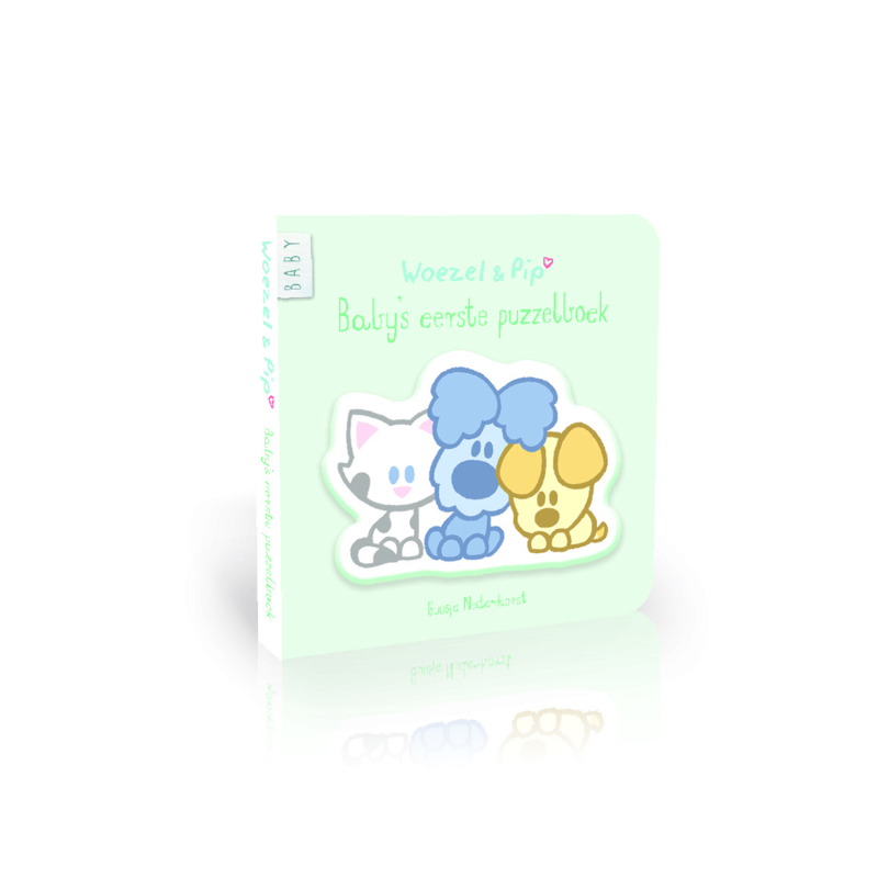 Woezel & Pip Baby's Eerste Puzzelboek