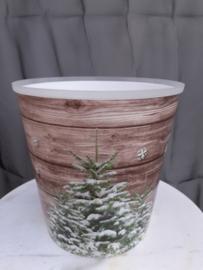 OVERPOT EN KADOVERPAKKING voor grote kerstster, kerstboom