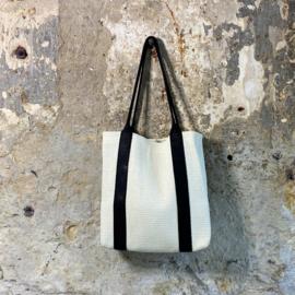 Sama bag - Basic White / black
