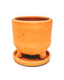 9 X neutral pot with legs - REF 004