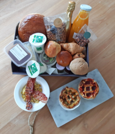 Luxe ontbijtmand (per persoon)