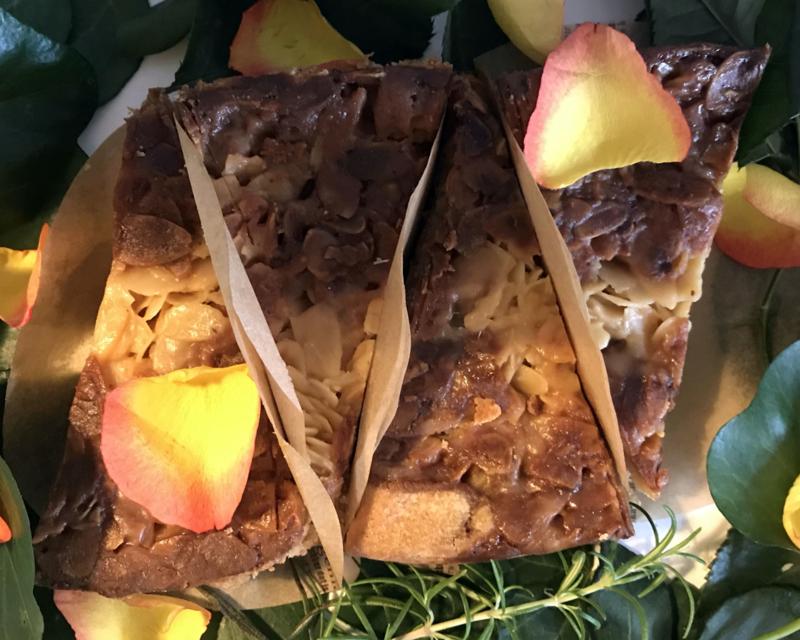 Franse Honing-Amandeltaart
