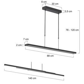 hanglamp - Zelena Motion 7970ZW