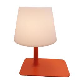 Oplaadbaar tafellamp oranje