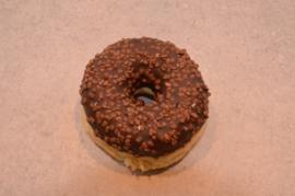 Chocodonut met crème