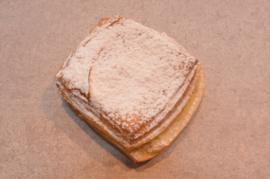 Crèmekoek met suiker