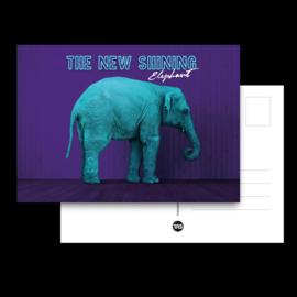 Postcard 'Elephant'