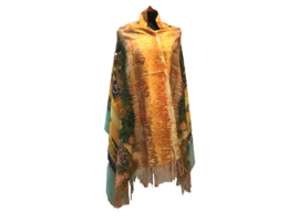 """Paco's Badajoz """"Mode & Kunst""""  + Gratis Broche! Damessjaal Wintersjaal"""