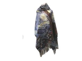 """Paco's Tarragona 2 + Gratis bijpassende Handschoenen t.w.v. € 24,95! """"Mode & Kunst"""" Damessjaal Wintersjaal - Laatste!"""