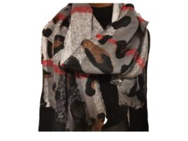 """Paco's Nairobi """"Mode & Dierenprint""""  + Gratis Handschoenen! Damessjaal Wintersjaal"""