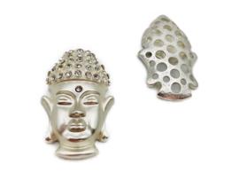 Damessjaal Magneet Broche | Boeddha | Schittersteentjes
