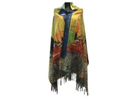"""Paco's Logroño + Gratis bijpassende Handschoenen t.w.v. € 24,95! """"Mode & Kunst"""" Damessjaal Wintersjaal"""