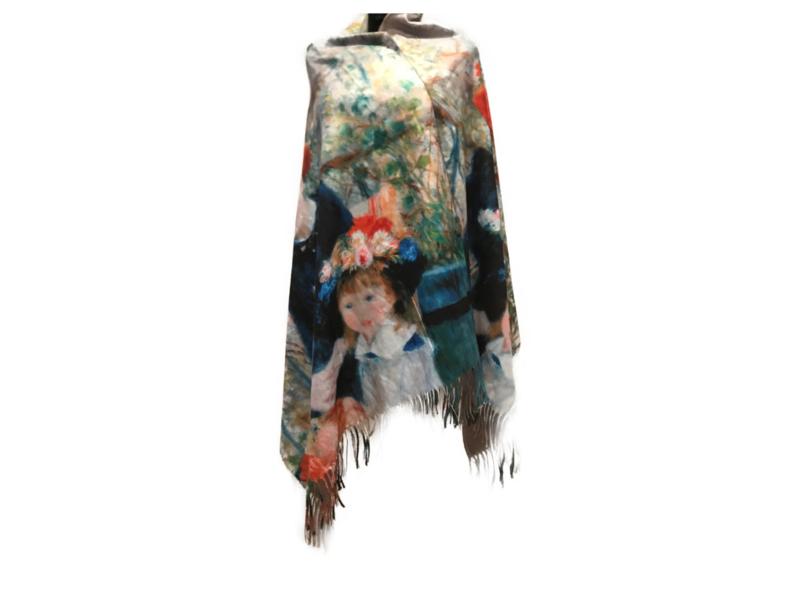"Paco's A Coruña ""Mode & Kunst""  + Gratis Broche! Damessjaal Wintersjaal"
