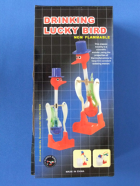 Drinking lucky bird