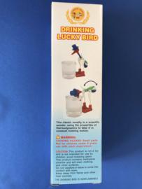 Drinking lucky bird blauw