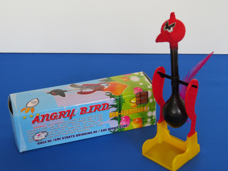 Angry drinking bird