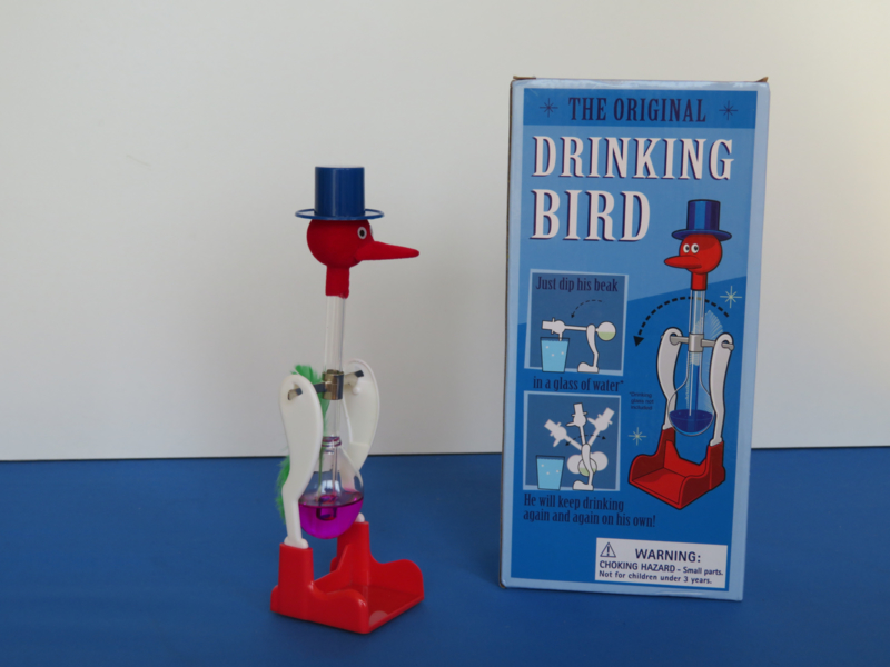Original drinking bird
