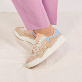 WAFFLE RECYCLED SNEAKERS - VEGAN NUDE
