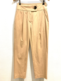 PARR TAPERED TROUSERS - PEACH NOUG