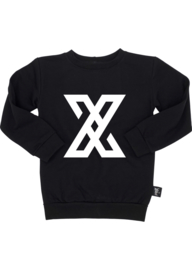 By Xavi – Zwarte Logo Sweater