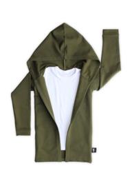 Extra Lang Vest Hunter Green