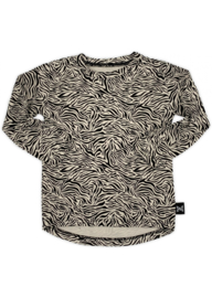 By Xavi – Little Zebra Longsleeve Zand