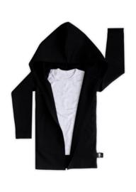 Extra Lang Vest Zwart
