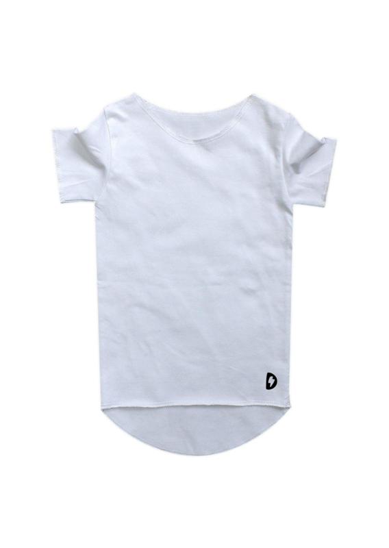 Wit effen T-shirt