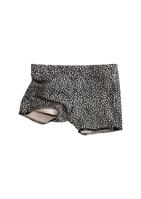 Leopard kort broekje