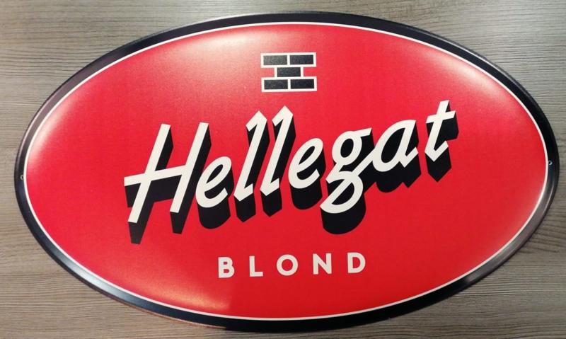 Hellegat Blond Aluminium bord