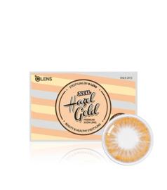 O-lens Hazel Gold 3CON (2 lenses/box, Plano, 1 Month)