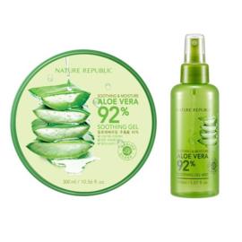 Nature Republic Soothing & Moisture Aloe Vera 92% Soothing Gel Mist