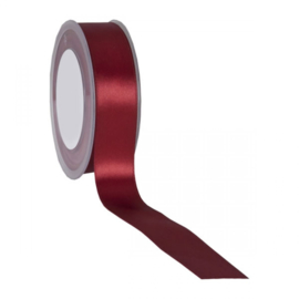 Wrapping service - Satijn Ribbon Dark Red