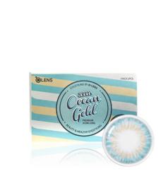 O-lens Ocean Gold 3CON (2 lenses/box, Plano, 1 Month)