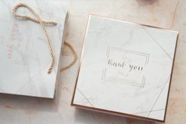 Rose Gold Marble Set Large Giftbox + Bag