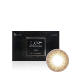 O-lens Glory Brown (2 lenses/box, Plano, 1 Month)