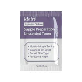 Klairs Supple Preparation Unscented Toner Sample