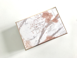 Premium Giftbox Marble High Gloss