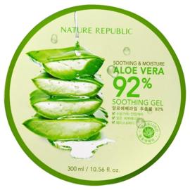 Nature Republic Soothing & Moisture Aloe Vera 92% Soothing Gel (Jar)